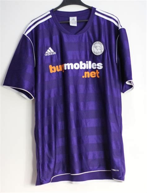 Derby County Away football shirt 2011 - 2012. Sponsored by ...