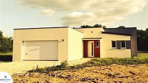 Maison Moderne Toit Plat : photo r alisation styl habitat maison moderne toit plat ~ Nature-et-papiers.com Idées de Décoration