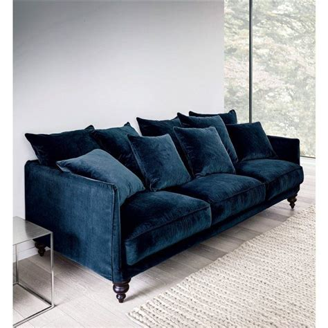 canapé fixe lazare en velours salons living rooms and
