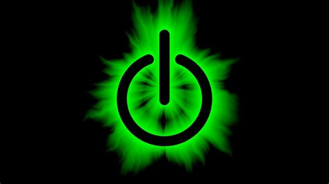 symbol power button effects switch wallpaper