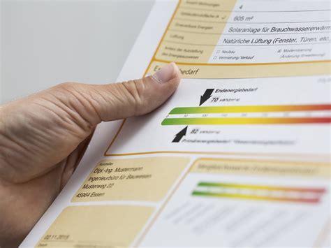 energieausweis neubau pflicht enev alle infos zur energieeinsparverordnung bauen de