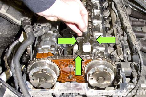 bmw e90 eccentric shaft position sensor replacement e91 e92 e93 pelican parts diy