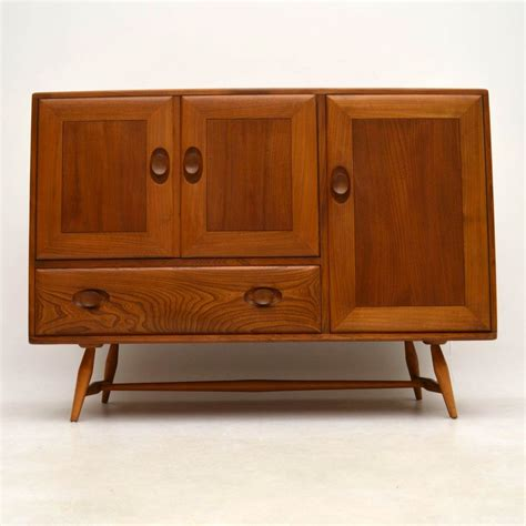 Second Sideboard by 1960 S Vintage Ercol Sideboard In Solid Elm