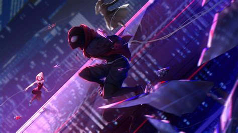 spider man   spider verse  wallpapers hd