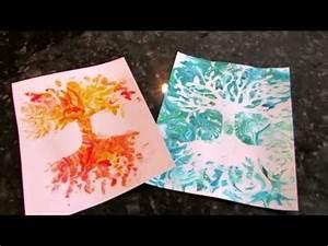 Acrylbinder Selber Machen : riesen papier bl te mit rasierschaum technik f rben f doovi ~ Yasmunasinghe.com Haus und Dekorationen