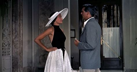 grace kelly thief catch grant cary beach movie wear hitchcock film meme alfred file dress 1955 side outfit clothesonfilm clothes