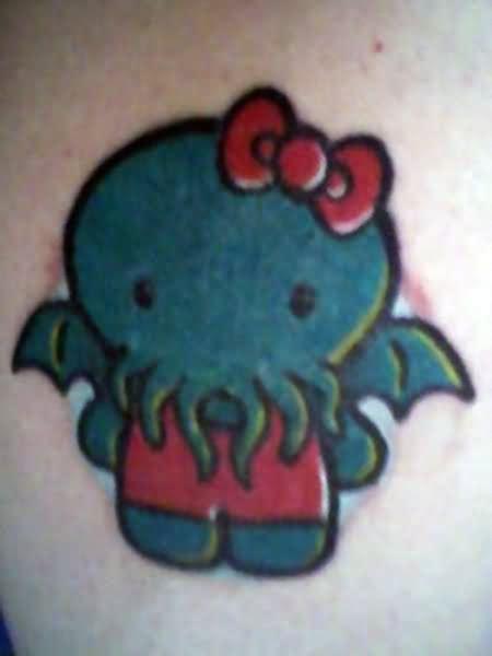 simple horror tattoos