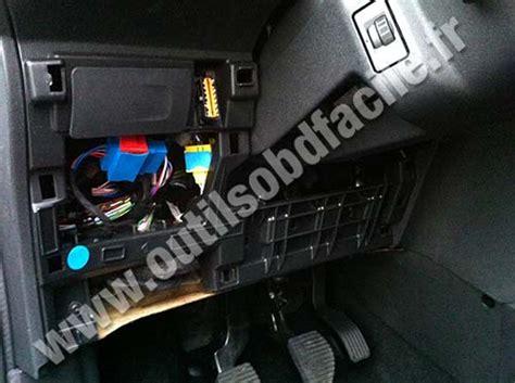 Citroen C3 Fuse Box 2006 by Obd2 Connector Location In Citroen C3 Ii 2009 2016