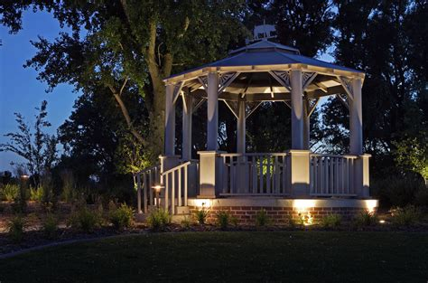 outdoor solar gazebo lights pergola design ideas