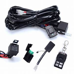 Kawell Heavy Duty Led Light Bar Wiring Harness Kit With 14