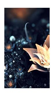 Pictures 3D Graphics Flowers Abstract art