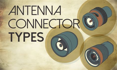 Antenna Connector Types