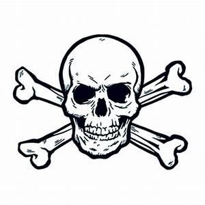Skull And Crossbones | TattooForAWeek.com - Temporary ...