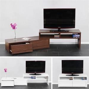 Tv Regal Hängend : tv rack tv regal lowboard fernsehtisch namur verschiebbar ausziehbar ebay ~ Sanjose-hotels-ca.com Haus und Dekorationen