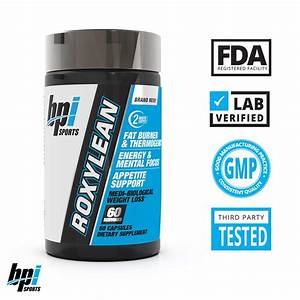 Bpi Sports -roxylean Extreme Fat Burner  U0026 Weight Loss Supplement  60count