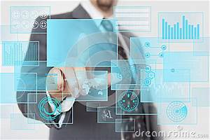 Futuristic Touchscreen Stock Photography - Image: 24736122