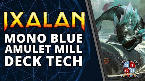 mtg mill deck tech mono blue amulet mill ixalan standard deck tech mtg