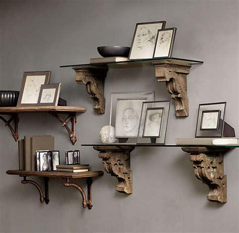 restoration hardware office desk cool corbel shelf ideas installation guide artisan