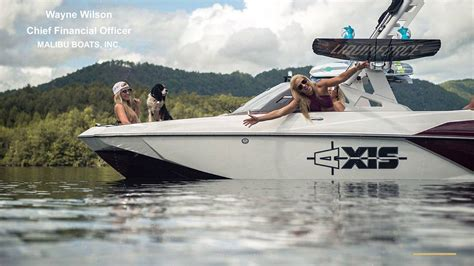 Malibu Boats Earnings Call malibu boats inc 2018 q4 results earnings call