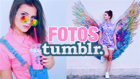 Criando fotos Tumblr! Truques e Tutoriais - YouTube