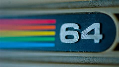 Commodore 64 Logo 1080p Hd Wallpaper  Ideas Para El Hogar