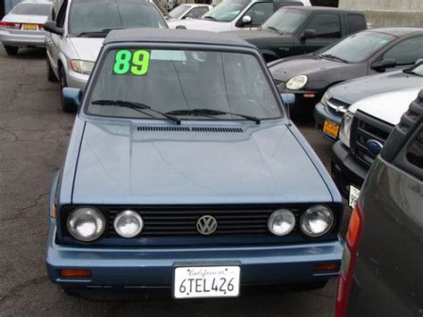blue book value used cars 1989 volkswagen type 2 regenerative braking purchase used volkswagen cabriolet convertible 1989 in south el monte california united states