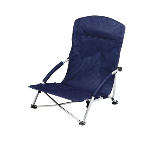 Picnic Time Portable Reclining C Chair Navy by Picnic Time Navy Tranquility Portable Patio Chair
