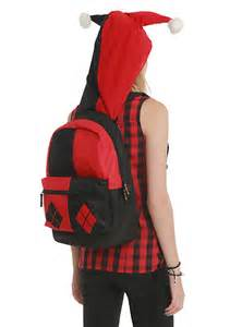 Backpack Hot Topic Harley Quinn