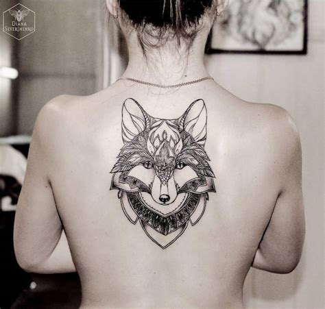 idees tatouage dos ce tattoo  je ne saurais voir