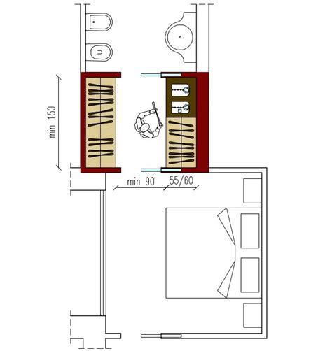 Dimensioni Guardaroba by Dimensioni Della Cabina Armadio Architettura A Domicilio 174