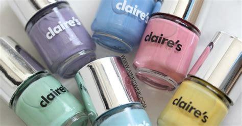 Claire's 6 Pack Pastel Mini Nail Polish Set Review