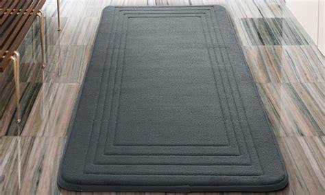 oversized  memory foam bath rugs groupon