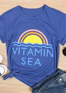Guide Size Chart Vitamin Sea T Shirt Without Necklace Fairyseason