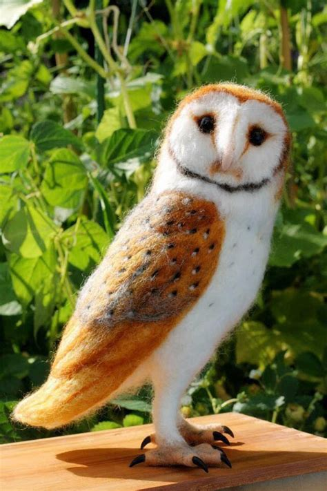 create lifelike needle felted animal sculptures bored