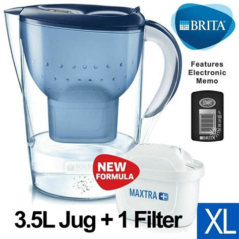 brita marella xl maxtra   water filter table jug