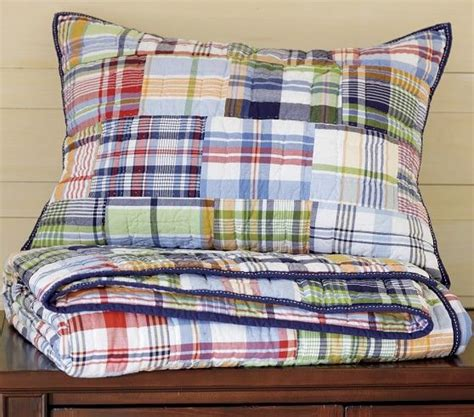 madras quilt house ideas quilt bedding pottery barn quilts kid beds