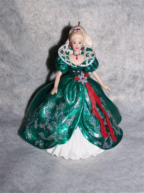 hallmark barbie collector series keepsake christmas