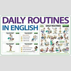 Daily Routines In English Youtube