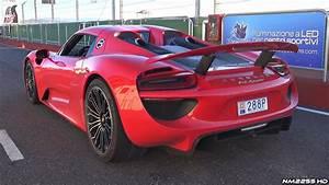 Porsche 918 Spyder Pure Engine Sound