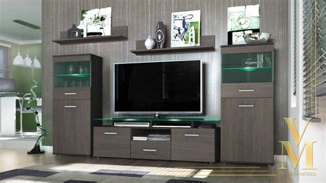 Black Living Room Wall Units by 15 Best Ideas Of Stylish Tv Cabinets