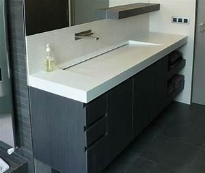 Meuble Avec Vasque : ensemble sanitaire meuble avec plan vasque lcca fabricant de mobilier de laboratoires et ~ Teatrodelosmanantiales.com Idées de Décoration