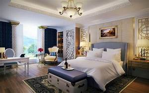 Bedroom design and wall colors – charm and luxury in the