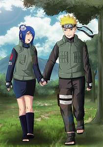 Commission: Naruto x Konan by Amenoosa on DeviantArt