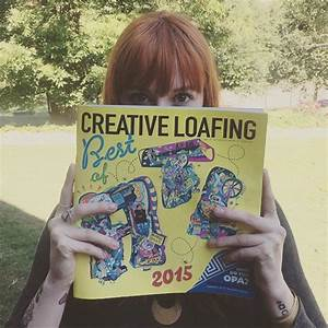 Creative Loafing Best of ATL2015 on Pantone Canvas Gallery