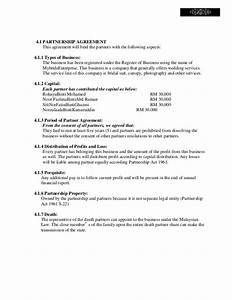 salon partner contract mybride gallery With silent partner contract template