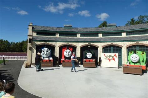 weekend shows at tidmouth sheds picture of edaville