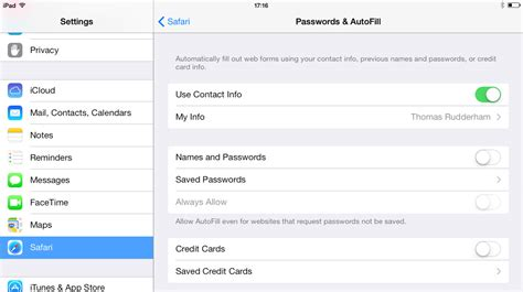 change autofill iphone how to use safari on using ios 7