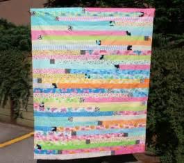 Jelly Roll 1600 Quilt Variation