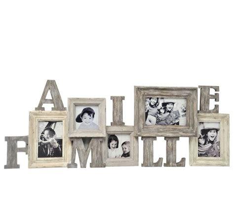 mettre un cadre sur une photo cadre photo en bois id 233 al pour y mettre les photos de famille 224 poser sur une commode ou