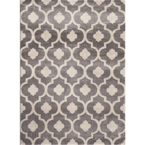moroccan trellis rug world rug gallery moroccan trellis contemporary gray 7 ft